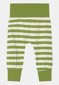 Sense Organics - SJORS BABY UNISEX - Trousers - green stripes - 2