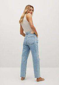 Mango - SELINA - Straight leg jeans - middenblauw - 2
