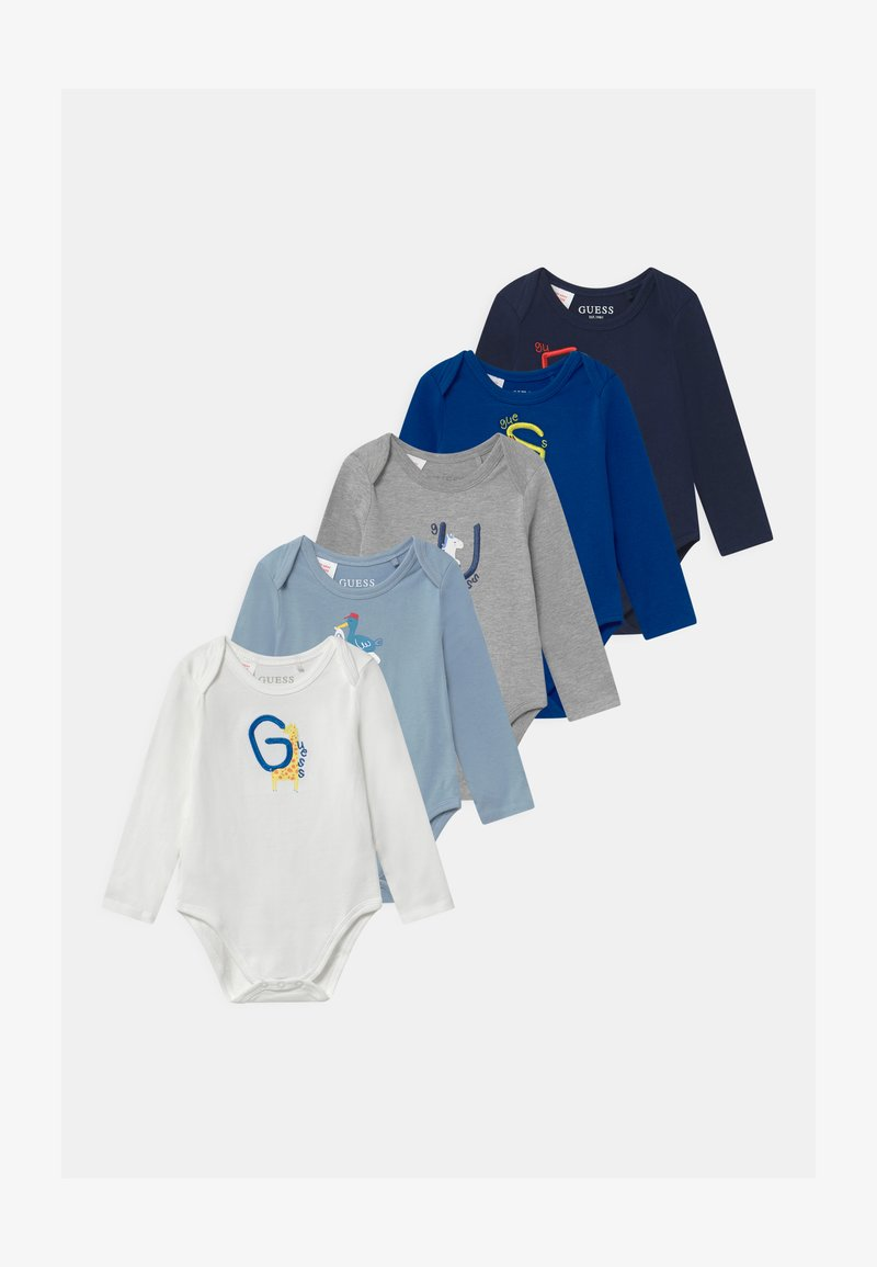 Guess - BABY 5 PACK - Baby gifts - blue