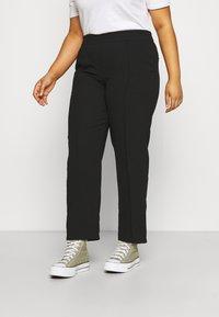 CAPSULE by Simply Be - PULL ON KAREN CREPE - Trousers - black - 0