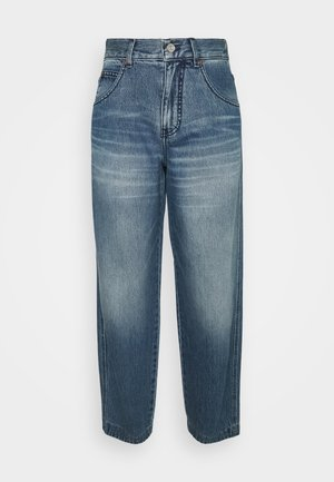 DIANA - Relaxed fit jeans - light-blue denim