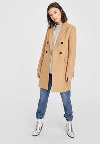 Stradivarius - Short coat - brown - 1