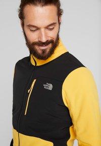 The North Face - GLACIER PRO FULL ZIP - Fleecejacke - yellow/black - 3