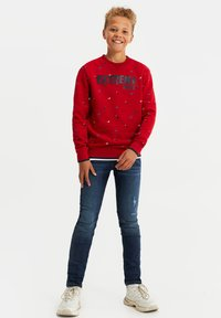 WE Fashion - Sweater - red - 0