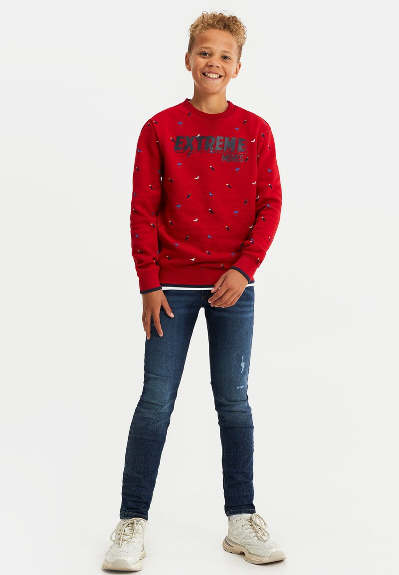 WE Fashion - Sweater - red