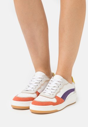 GAMZA - Sneakers laag - blanc/multicolor