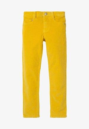 Straight leg jeans - honiggelb