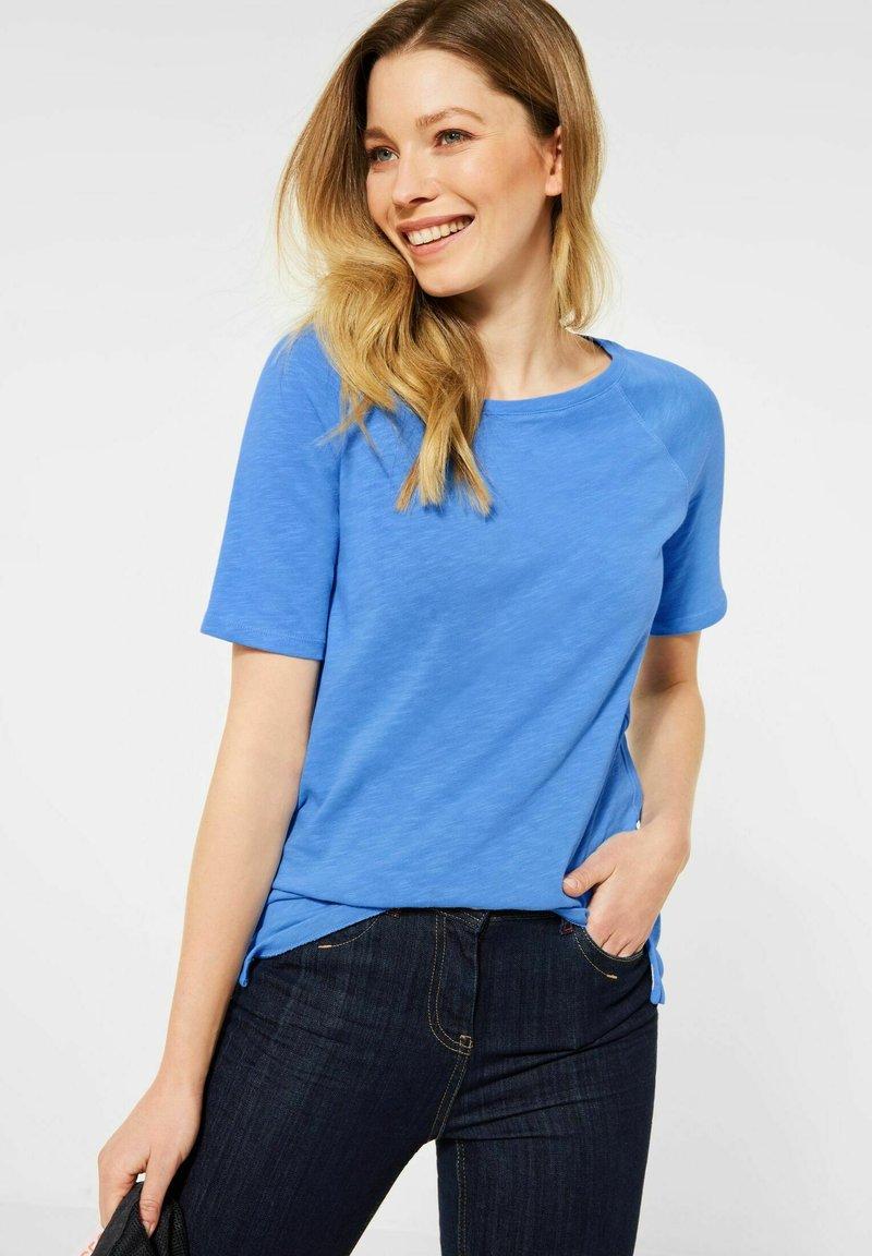 Cecil - RAGLAN  - Basic T-shirt - blau