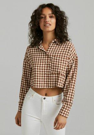 T-shirt à manches longues - brown