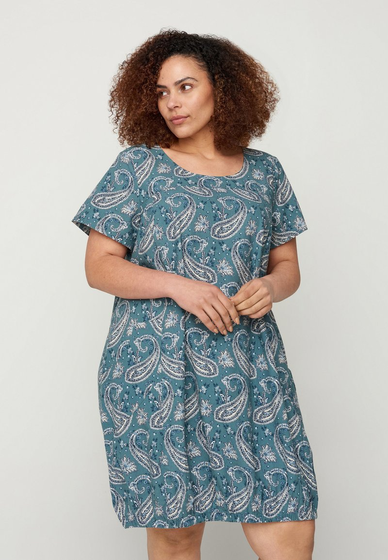 Zizzi - Day dress - paisley