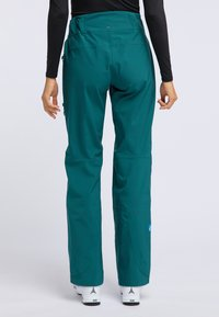 PYUA - RELEASE - Pantaloni da neve - petrol blue - 2