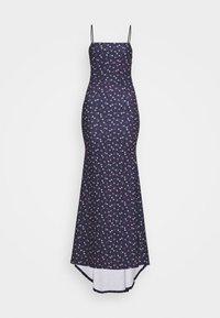 Missguided - FLORAL CAMI FISHTAIL BRIDESMAID DRESS - Sukienka z dżerseju - navy - 5