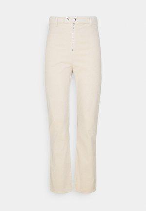 HIGH WAIST PANTS - Pantalon classique - beige