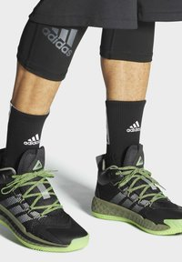 adidas Performance - PRO BOOST MID SHOES - Basketball shoes - black - 0