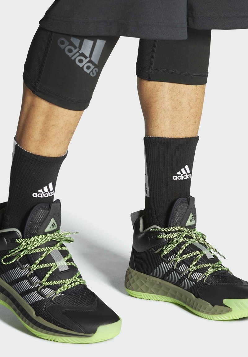 adidas Performance - PRO BOOST MID SHOES - Basketball shoes - black