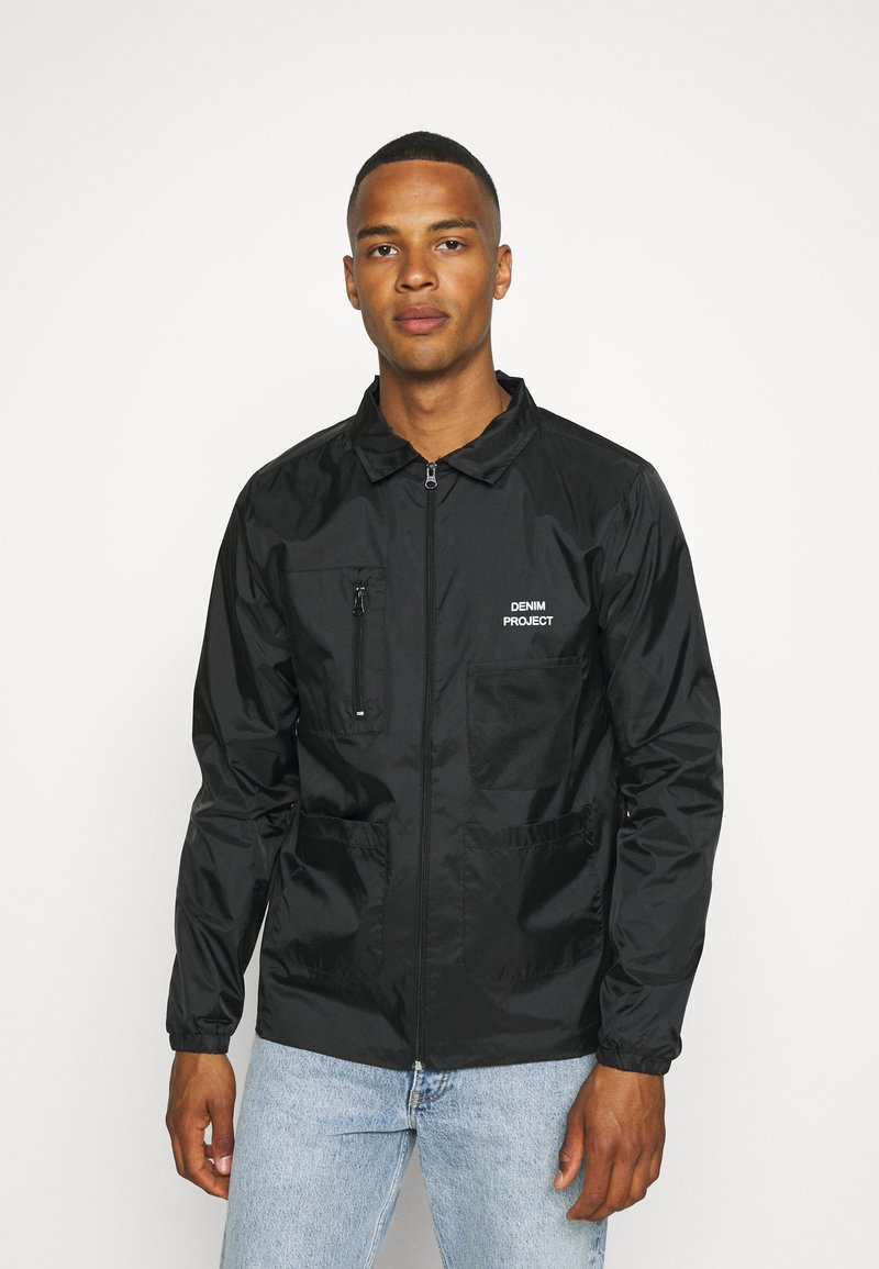 Denim Project - UTILITY - Summer jacket - black