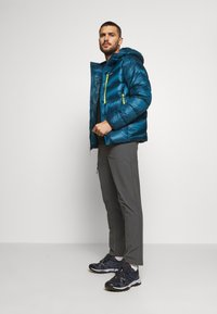 Patagonia - FITZ ROY HOODY - Down jacket - crater blue