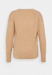 Calvin Klein - OPEN NECK - Jumper - countryside khaki - 1