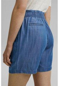 Esprit - Denim shorts - blue medium wash - 4