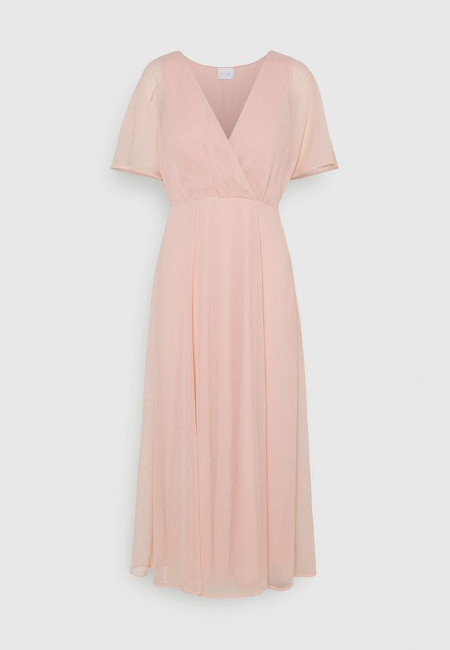 VIRILLA V NECK DRESS - Galajurk - rose smoke