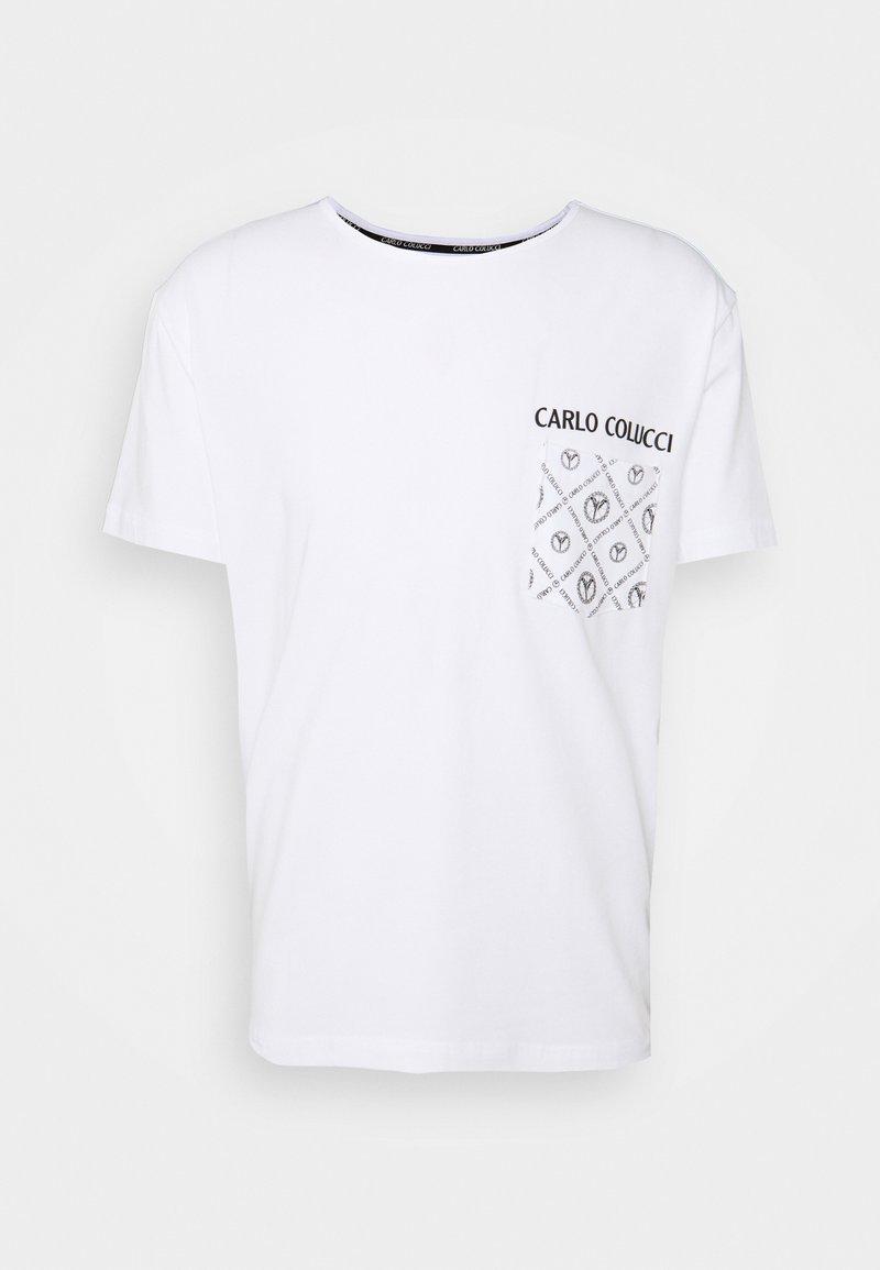 Carlo Colucci - Print T-shirt - white