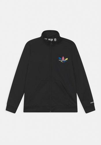 TRACK UNISEX - Training jacket - black