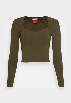 GITA SWEETHEART - Langærmede T-shirts - olive