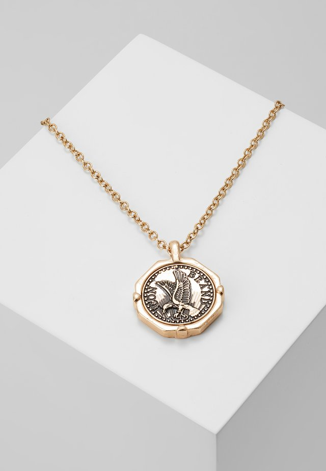 EAGLECOIN NECKLACE - Ketting - rhodium-coloured