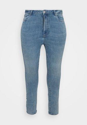 VMLOA  - Skinny džíny - light blue denim