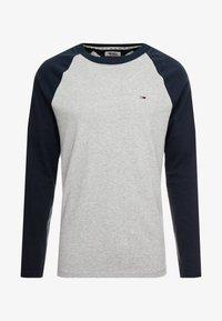 Tommy Jeans - RAGLAN TEE - Long sleeved top - dark blue - 3