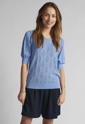 Print T-shirt - vista blue
