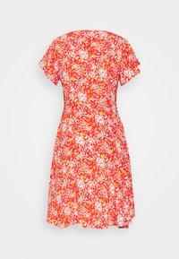 Object Petite - OBJBARB AYA SHORT DRESS - Kjole - poinciana - 1