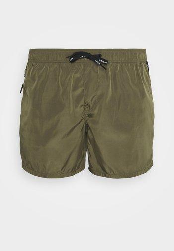 BEACHWEAR - Swimming shorts - dark military