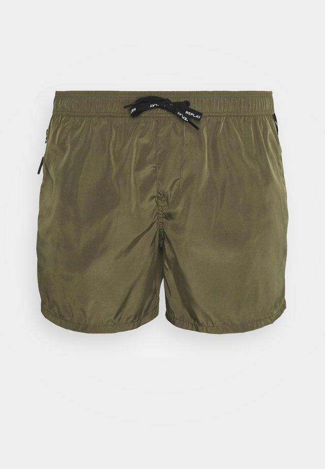 BEACHWEAR - Shorts da mare - dark military