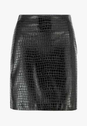 VACRONI - Pencil skirt - black