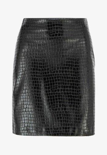 VACRONI - Pencil skirt - black