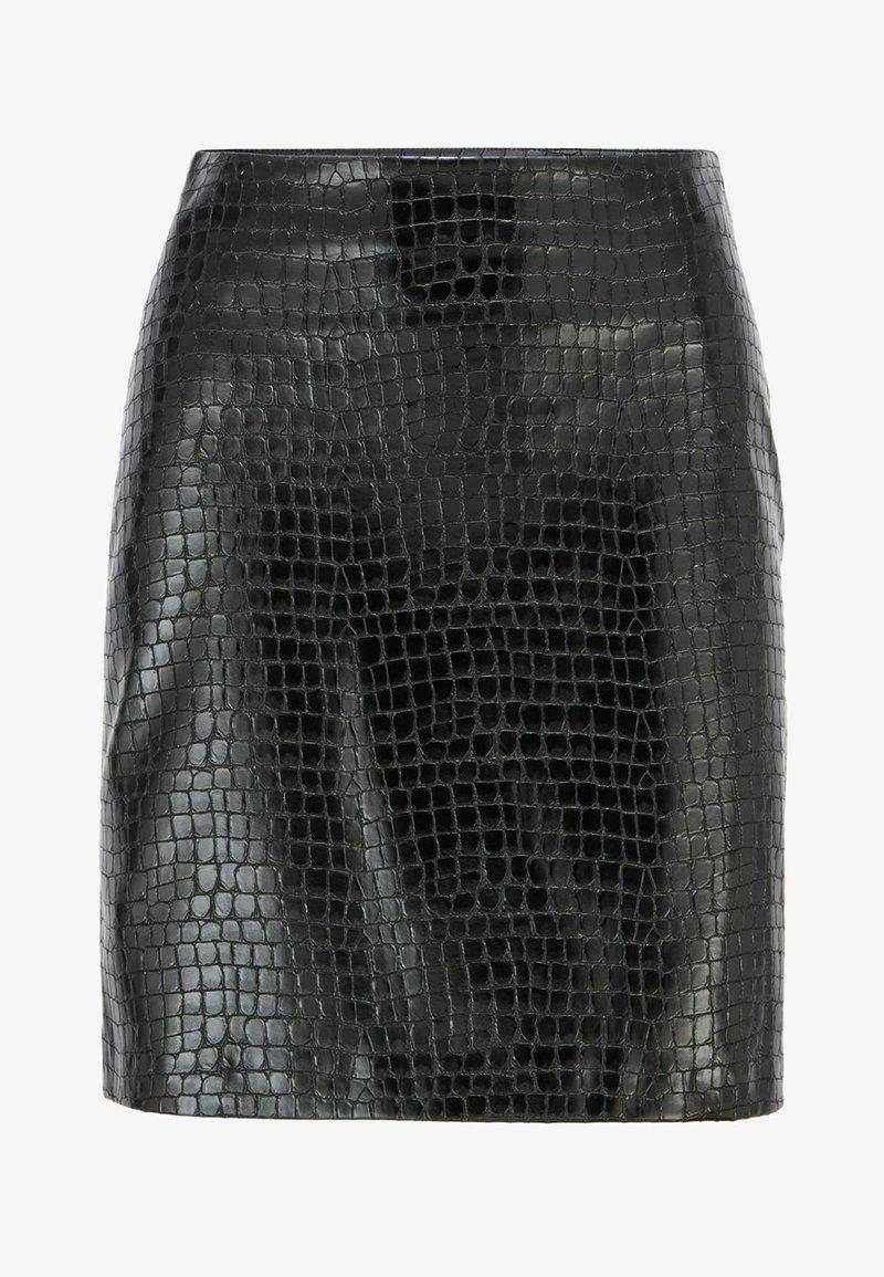 BOSS - VACRONI - Pencil skirt - black