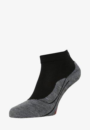 RU4 SHORT - Sports socks - black/grey