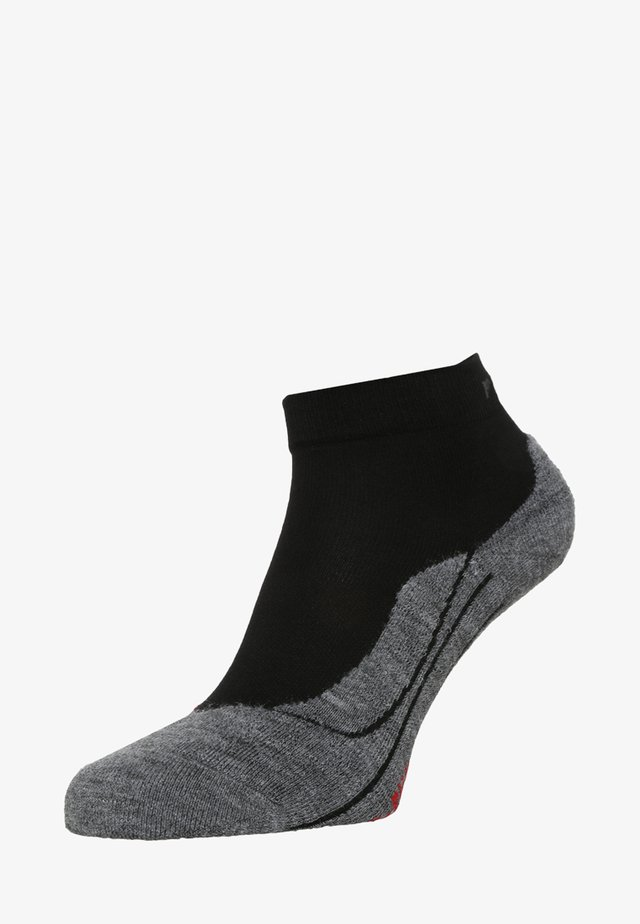 RU4 SHORT  - Sports socks - black/grey