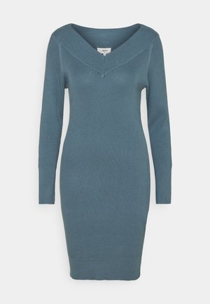OBJMANJA DRESS - Jumper dress - blue mirage