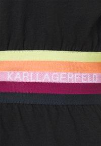KARL LAGERFELD - RIB INSERT  - T-shirt imprimé - black - 5