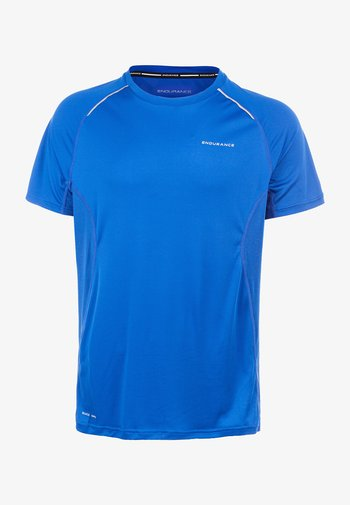 Print T-shirt -  directoire blue