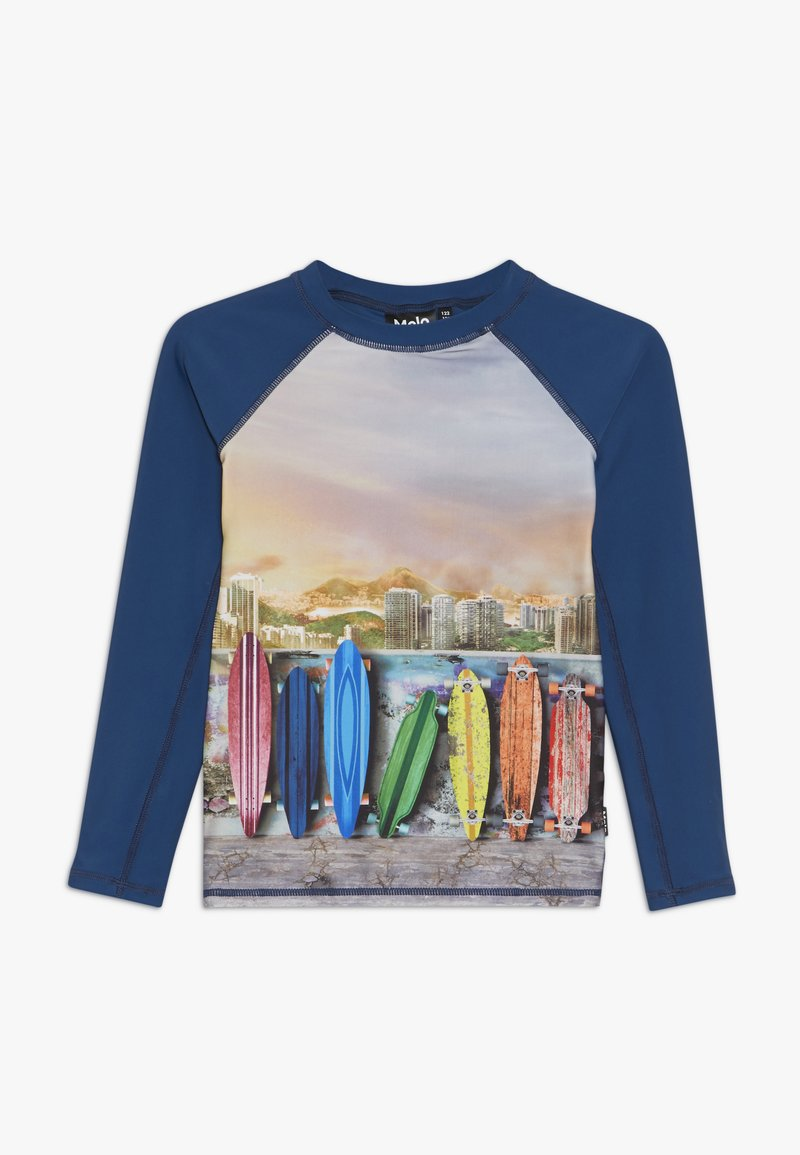 Molo - NEPTUNE  - Surfshirt - dark blue/multi-coloured