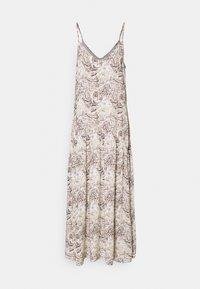 Object Tall - OBJKINNA SINGLETDRESS - Maxi dress - silver gray - 0