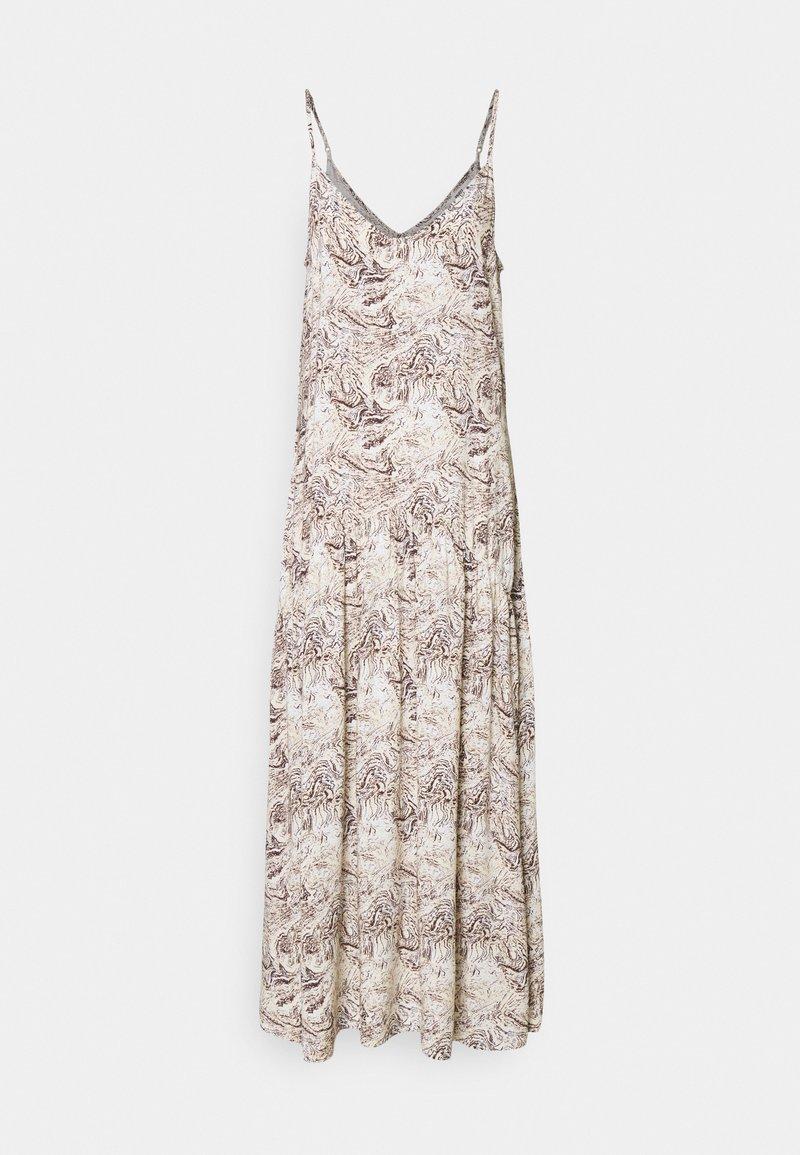 Object Tall - OBJKINNA SINGLETDRESS - Maxi dress - silver gray