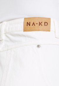 NA-KD - WIDE LEG - Relaxed fit jeans - ecru - 5