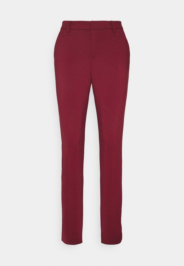 VMLEAH MR CLASSIC PANT - Pantalones - cabernet