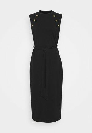 HALLSTATT DRESS - Vestito di maglina - black