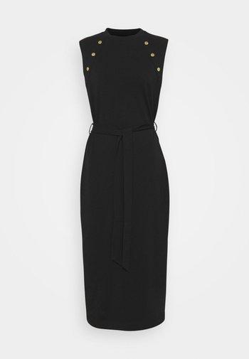 HALLSTATT DRESS - Jersey dress - black