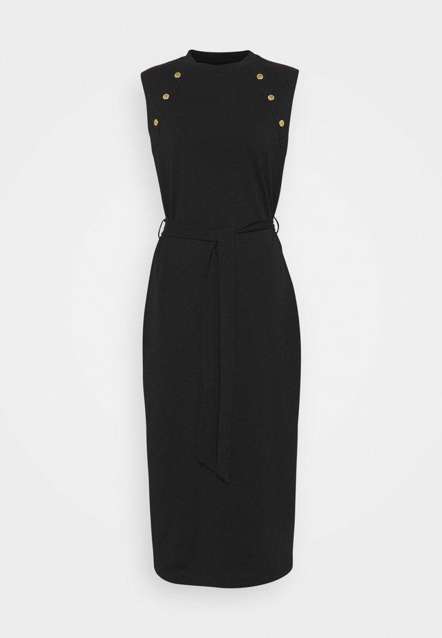 HALLSTATT DRESS - Žerzejové šaty - black